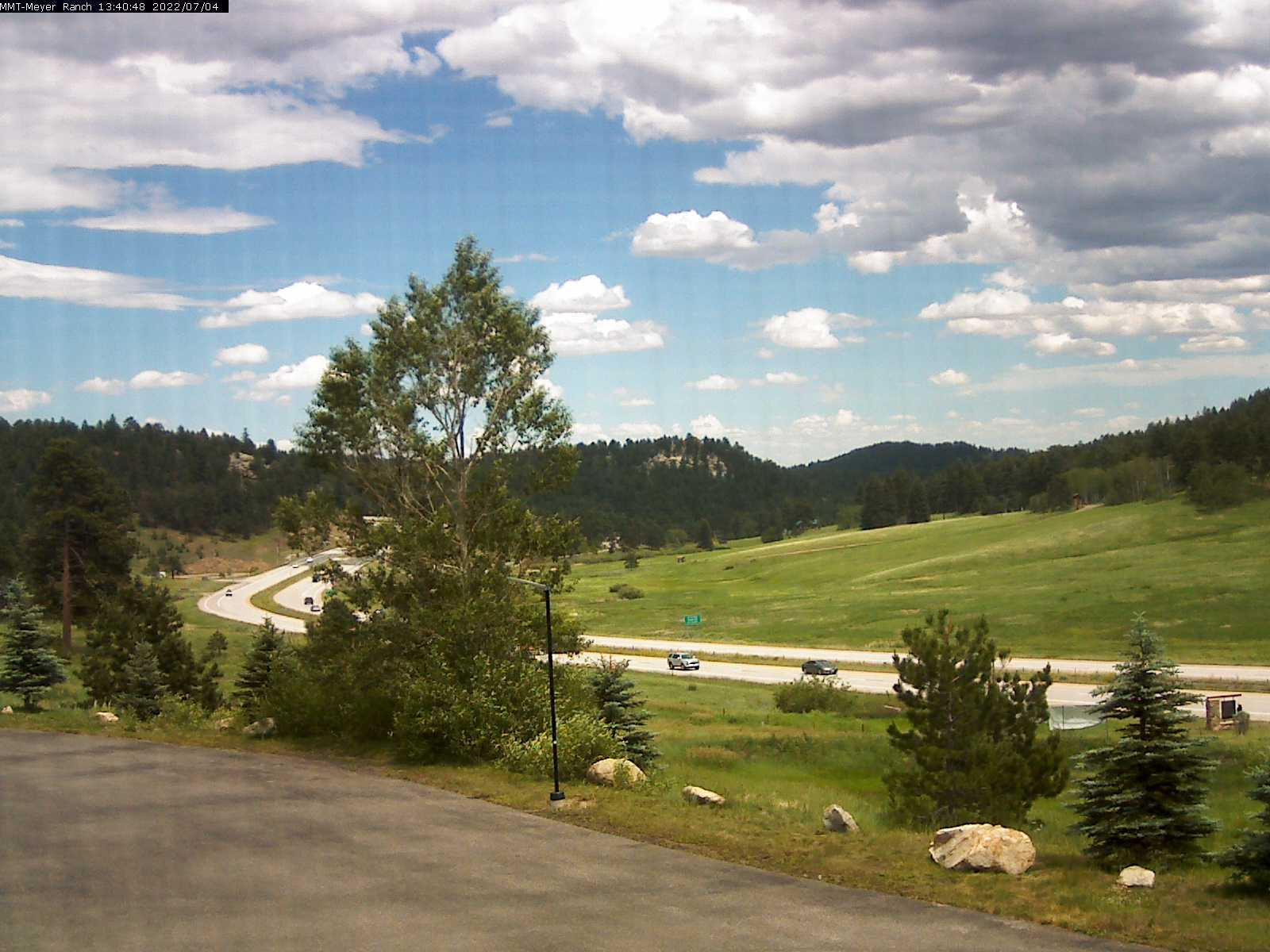 Meyer Ranch Sledding Hill Our Lady of the Pines webcam