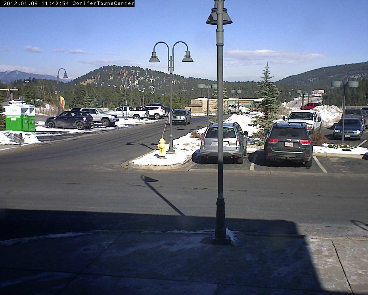 Aspen Perk Cafe Conifer traffic webcam